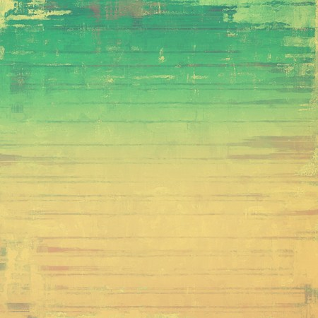 Abstract textured background designed in grunge style. With different color patterns: yellow (beige); brown; green; gray Stock Photo