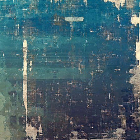 cyan: Abstract distressed grunge background. With different color patterns: yellow (beige); blue; gray; cyan