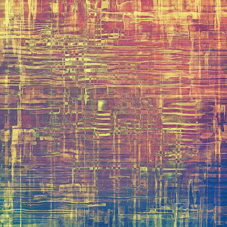 oldfield: Grunge retro vintage texture, old background. With different color patterns: yellow (beige); purple (violet); blue; pink