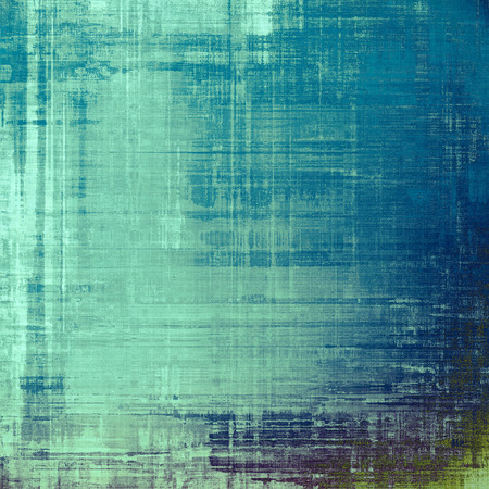 distressed: Old school textured background. With different color patterns: blue; gray; green; cyan