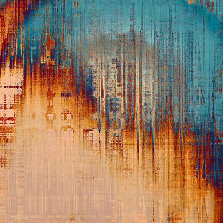 grained: Old antique texture (for background). With different color patterns: yellow (beige); blue; gray; red (orange)