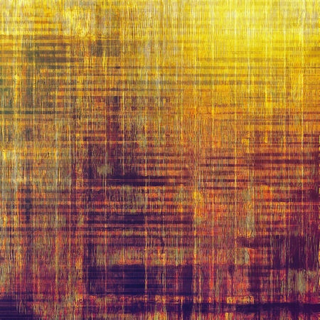 crosshatching: Old background with delicate abstract texture. With different color patterns: yellow (beige); brown; purple (violet); red (orange) Stock Photo
