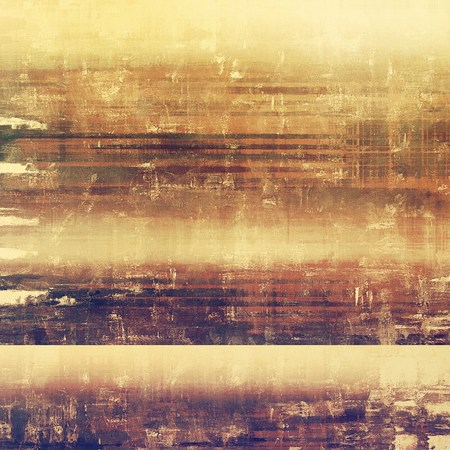 oldschool: Grunge old-school texture, background for design. With different color patterns: yellow (beige); brown; gray; purple (violet)