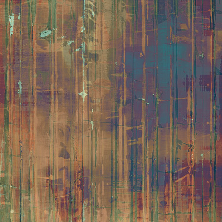 oldschool: Grunge old-school texture, background for design. With different color patterns: brown; blue; green; purple (violet)