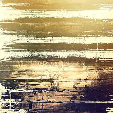 sackcloth: Abstract distressed grunge background. With different color patterns: yellow (beige); brown; gray; black Stock Photo
