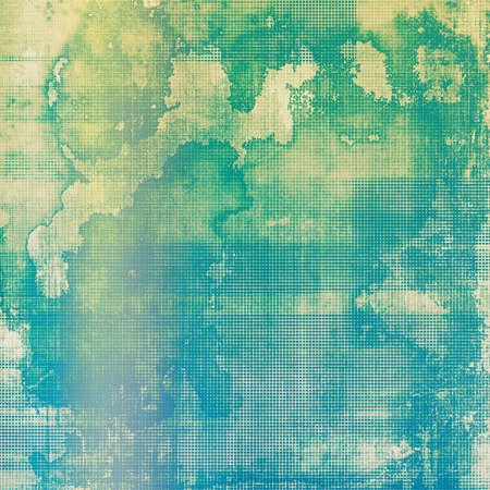 distressed background: Abstract distressed grunge background. With different color patterns: yellow (beige); blue; green; cyan