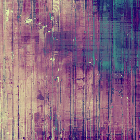 oldfield: Grunge texture. With different color patterns: blue; pink; purple (violet); cyan Stock Photo