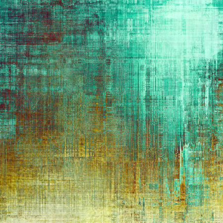 oldschool: Grunge old-school texture, background for design. With different color patterns: yellow (beige); brown; blue; green