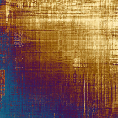 oldschool: Grunge old-school texture, background for design. With different color patterns: yellow (beige); brown; blue; purple (violet)