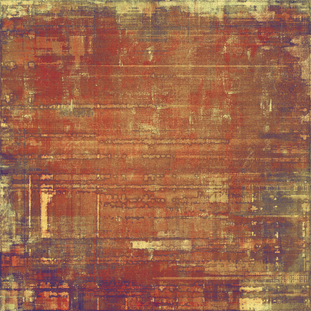 rusted: Vintage old texture for creative retro background. With different color patterns: yellow (beige); brown; purple (violet); red (orange)