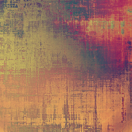 designed: Designed grunge texture or background. With different color patterns: yellow (beige); brown; red (orange); pink