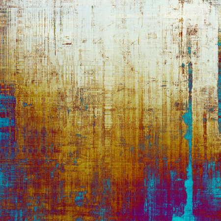 Abstract distressed grunge background. With different color patterns: yellow (beige); purple (violet); red (orange); blue