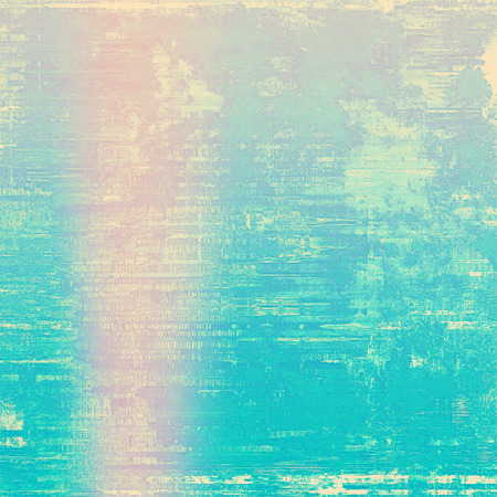 Old abstract grunge background for creative designed textures. With different color patterns: yellow (beige); blue; cyan; pink Stock Photo