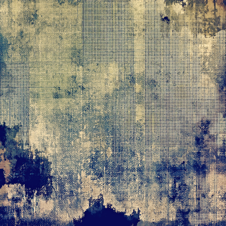 faded: Grunge old-fashioned background with space for text or image. With different color patterns: yellow (beige); brown; blue; gray