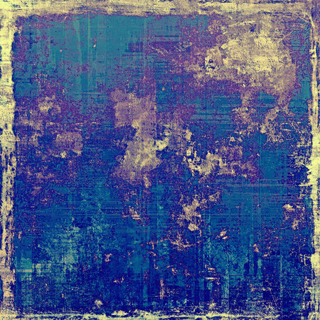 obsolete: Old antique texture or background. With different color patterns: yellow (beige); brown; blue; purple (violet) Stock Photo