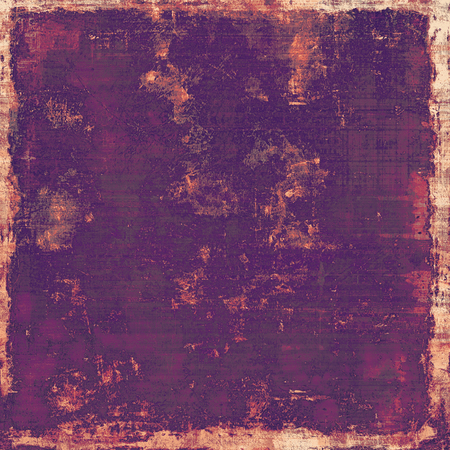 violet red: Old grunge antique texture. With different color patterns: yellow (beige); purple (violet); red (orange); pink