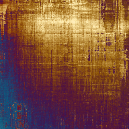 old fashioned sepia: Background in grunge style. With different color patterns: yellow (beige); brown; blue; purple (violet)