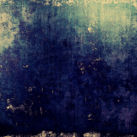 black and blue: Old antique texture (for background). With different color patterns: yellow (beige); black; blue; cyan