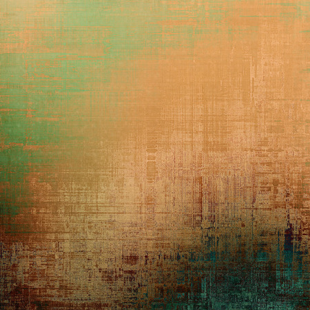 dull: Beautiful antique vintage background. With different color patterns: yellow (beige); brown; blue; green
