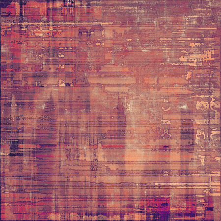 violet red: Old texture as abstract grunge background. With different color patterns: brown; purple (violet); red (orange); pink