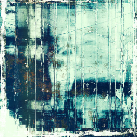 burnt edges: Abstract distressed grunge background. With different color patterns: brown; blue; cyan