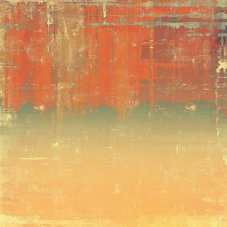 Rough vintage texture. With different color patterns: yellow (beige); brown; gray; red (orange)