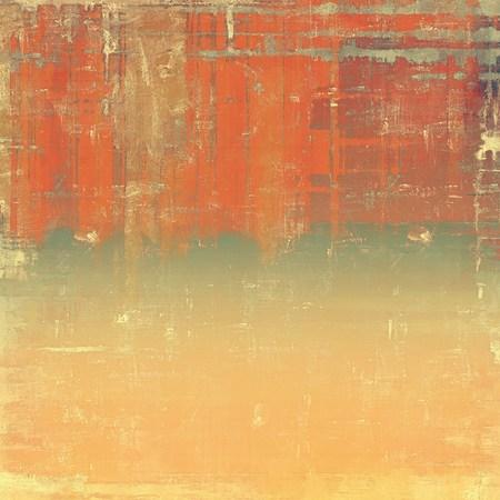 Ruwe vintage textuur. Met verschillende kleurpatronen: geel (beige); bruin; grijs; rood (oranje)