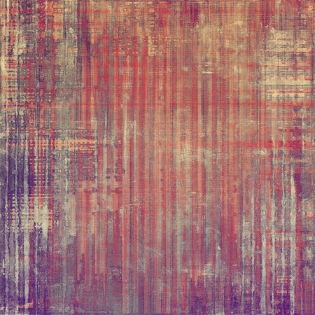 violet red: Antique vintage texture, old-fashioned weathered background. With different color patterns: brown; purple (violet); red (orange); pink Stock Photo