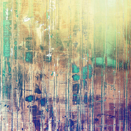 green purple: Retro background with grunge texture. With different color patterns: yellow (beige); brown; green; purple (violet)