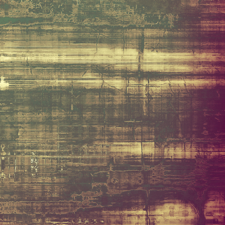 verde y morado: Abstract grunge background. With different color patterns: yellow (beige); brown; green; purple (violet)