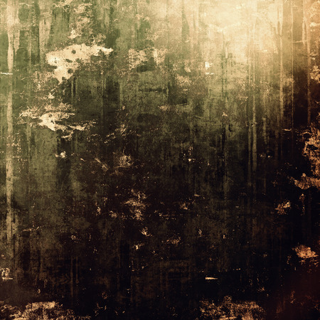 black grunge background: Old abstract grunge background for creative designed textures. With different color patterns: brown; gray; black; green