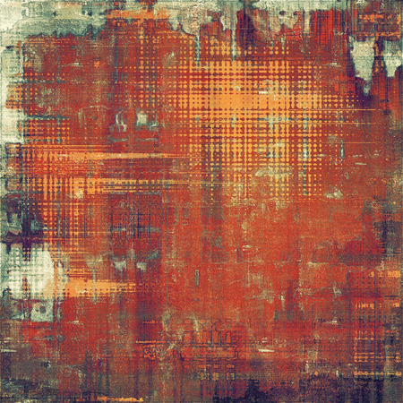 violet red: Old, grunge background or ancient texture. With different color patterns: brown; red (orange); purple (violet); green Stock Photo