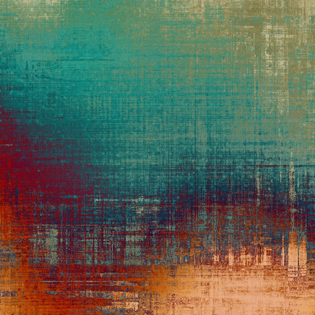 distressed background: Grunge texture, distressed background. With different color patterns: brown; red (orange); blue; green