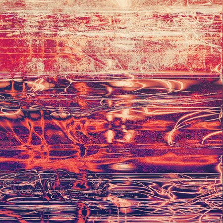 violet red: Old texture with delicate abstract pattern as grunge background. With different color patterns: yellow (beige); purple (violet); red (orange); pink
