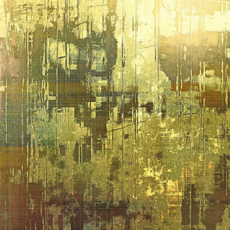Highly detailed grunge texture or background. With different color patterns: yellow (beige); brown; gray; green