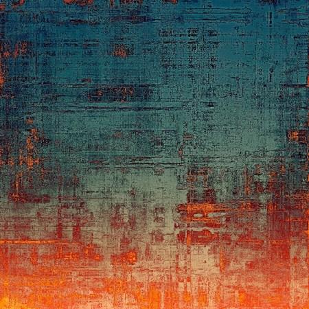 背景のビンテージ テクスチャです。さまざまなカラー パターンで: 黄色 (ベージュ);青;灰色;赤 (オレンジ)
