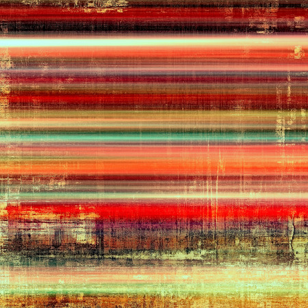 orange color: Computer designed highly detailed vintage texture or background. With different color patterns: yellow (beige); brown; red (orange); green; pink
