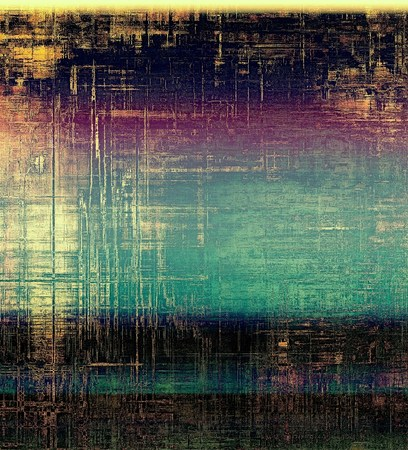 aging: Old-style background, aging texture. With different color patterns: yellow (beige); blue; purple (violet); black
