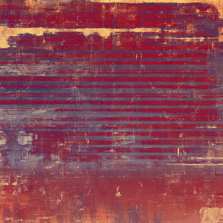 violet red: Old texture as abstract grunge background. With different color patterns: yellow (beige); brown; purple (violet); red (orange) Stock Photo
