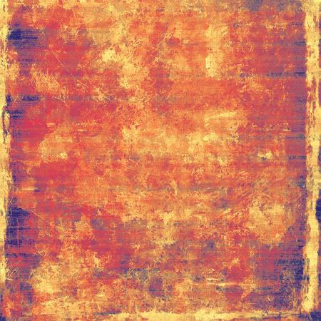 violet red: Antique vintage texture, old-fashioned weathered background. With different color patterns: yellow (beige); brown; purple (violet); red (orange) Stock Photo
