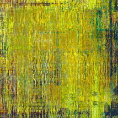 bad condition: Grunge retro vintage texture, old background. With different color patterns: yellow (beige); brown; blue; green Stock Photo