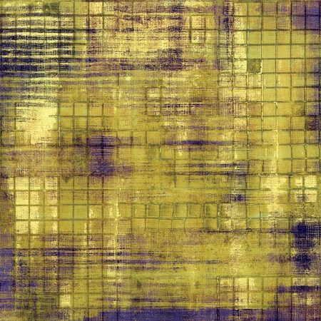 oldfield: Old grunge template. With different color patterns: yellow (beige); brown; blue; black Stock Photo
