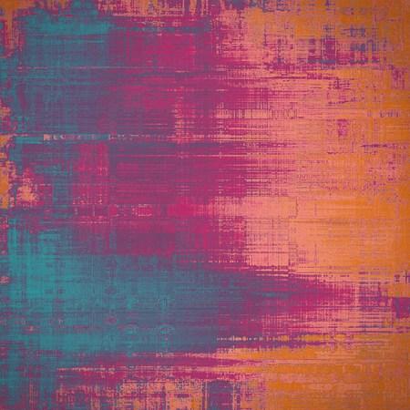 violet red: Art grunge vintage textured background. With different color patterns: blue; purple (violet); red (orange); pink