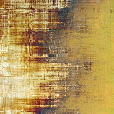 aging: Aging grunge texture designed as abstract old background. With different color patterns: yellow (beige); brown; black; white