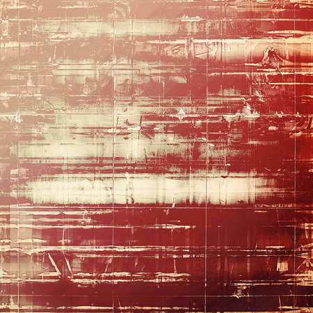 creative arts: Grunge texture. With different color patterns: yellow (beige); brown; gray; red (orange) Stock Photo