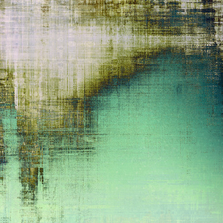threadbare: Abstract rough grunge background, colorful texture. With different color patterns: brown; gray; green; white
