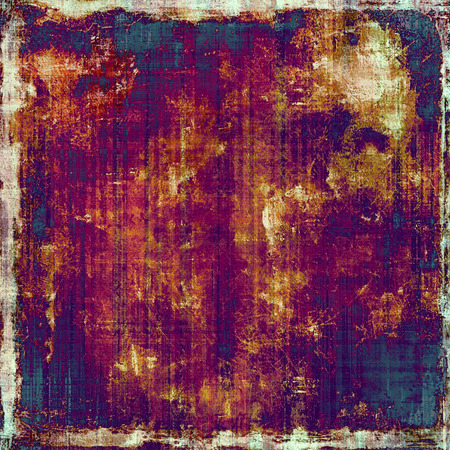 violet red: Antique vintage texture or background. With different color patterns: yellow (beige); purple (violet); blue; red (orange)