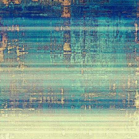 retro grunge: Grunge retro vintage texture, old background. With different color patterns: yellow (beige); blue; cyan; white Stock Photo