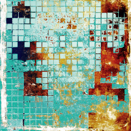 oldfield: Abstract rough grunge background, colorful texture. With different color patterns: yellow (beige); brown; blue; white
