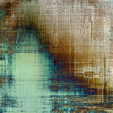 oldschool: Grunge old-school texture, background for design. With different color patterns: yellow (beige); brown; blue; gray